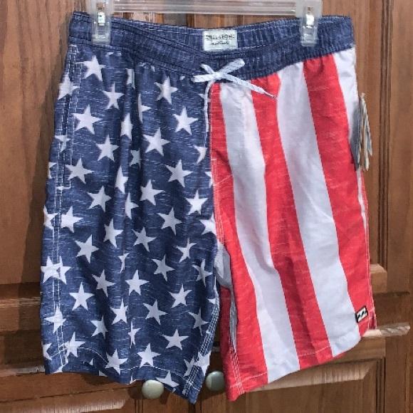 Billabong Men's Americana Board Shorts Swim NEW